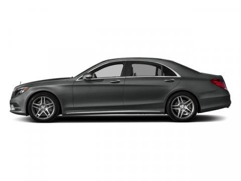 2017 Mercedes S-Class S 550 Selenite Grey MetallicBlack V8 47 L Automatic 770 miles ORIGINAL