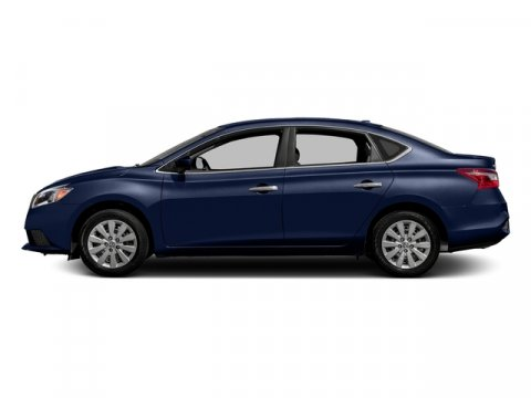 2017 Nissan Sentra S Deep Blue PearlCharcoal V4 18 L Variable 0 miles Delivers 37 Highway MPG
