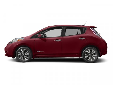 2017 Nissan LEAF S Coulis RedBlack V 00 Automatic 0 miles This Nissan LEAF boasts a Electric