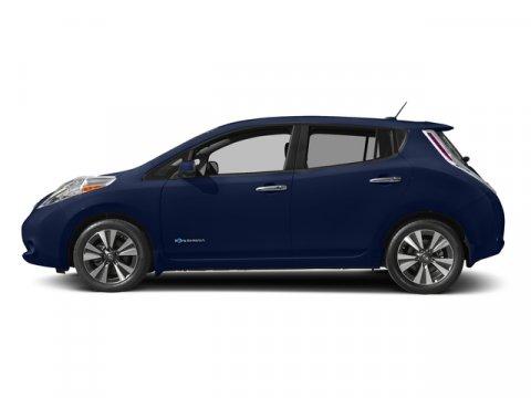 2017 Nissan LEAF SL Deep Blue PearlBlack V 00 Automatic 0 miles This Nissan LEAF boasts a Ele