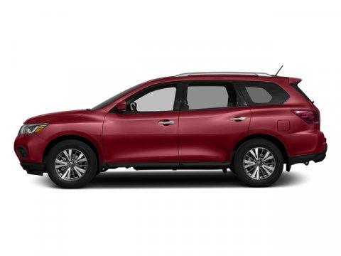 2017 Nissan Pathfinder S Cayenne Red MetallicCharcoal V6 35 L Variable 0 miles Delivers 27 Hi