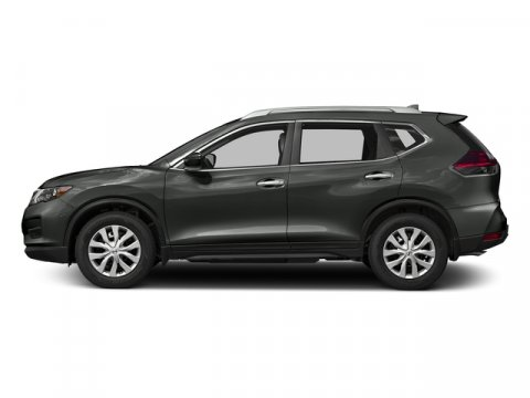 2017 Nissan Rogue S Gun MetallicCharcoal V4 25 L Variable 0 miles Scores 33 Highway MPG and 2
