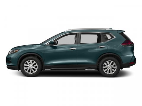 2017 Nissan Rogue S Caspian BlueCharcoal V4 25 L Variable 0 miles Boasts 33 Highway MPG and 2