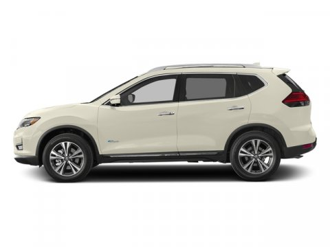 2017 Nissan Rogue SL Hybrid Pearl WhiteCharcoal V4 20 L Variable 0 miles Delivers 34 Highway