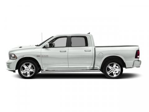 2017 Ram 1500 Bright White Clearcoat V8 57 L Automatic 10 miles Boasts 23 Highway MPG and 16