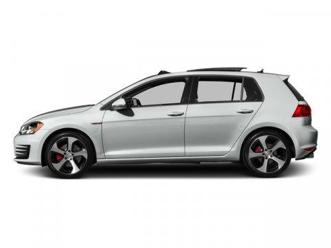 2017 Volkswagen Golf GTI Sport Pure WhiteTitan Black wClark Plaid V4 20 L Automatic 0 miles