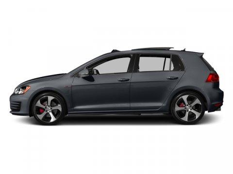 2017 Volkswagen Golf GTI Sport Carbon Steel Gray MetallicTitan Black wClark Plaid V4 20 L Auto