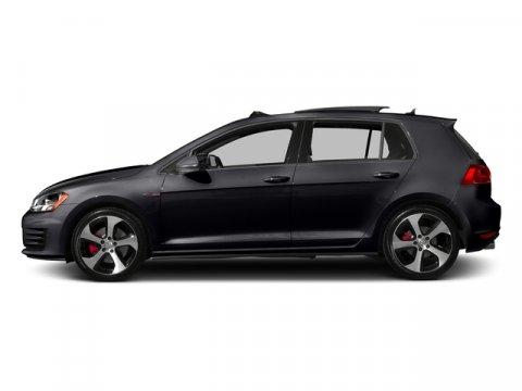 2017 Volkswagen Golf GTI Sport Deep Black PearlTitan Black wClark Plaid V4 20 L Automatic 0 m