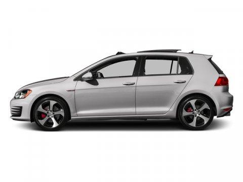 2017 Volkswagen Golf GTI Sport Reflex Silver MetallicTitan Black wClark Plaid V4 20 L Automati