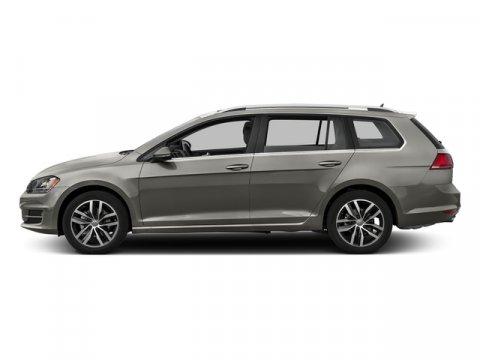 2017 Volkswagen Golf SportWagen SE Tungsten Silver MetallicBLK V-TEX LEATHERETTE V4 18 L Automa