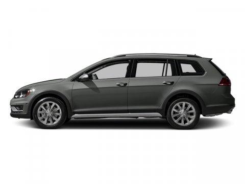 2017 Volkswagen Golf Alltrack SEL Platinum Gray MetallicTitan Black V4 18 L Automatic 0 miles