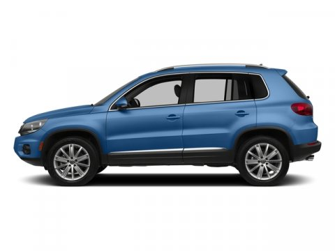 2017 Volkswagen Tiguan Wolfsburg Edition Pacific Blue Metallic V4 20 L Automatic 8 miles This