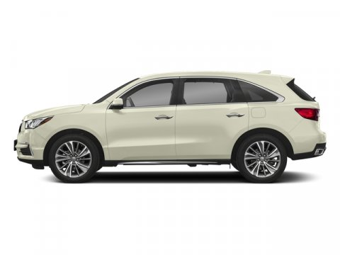 2018 Acura MDX with TechnologyEntertainment White Diamond PearlParchment V6 35 L Automatic 10
