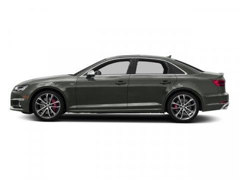 2018 Audi S4 Premium Plus Daytona Gray Pearl EffectRotor Gray V6 30 L Automatic 0 miles Boast