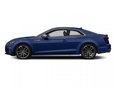 2018 Audi S5 Coupe Premium Plus Navarra Blue MetallicBlack V6 30 L Automatic 0 miles Delivers