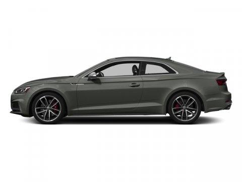 2018 Audi S5 Coupe Premium Plus Daytona Gray Pearl EffectMagma Red V6 30 L Automatic 4537 mile