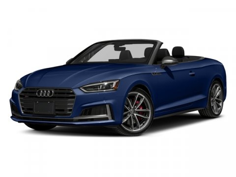 2018 Audi S5 Cabriolet Premium Plus Navarra Blue MetallicBlack RoofBlack V6 30 L Automatic 10