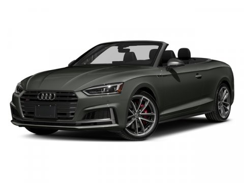 2018 Audi S5 Cabriolet Premium Plus Daytona Gray Pearl EffectBlack RoofBlack V6 30 L Automatic