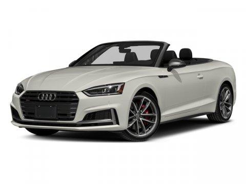 2018 Audi S5 Cabriolet Premium Plus Ibis WhiteBlack RoofBlack V6 30 L Automatic 10 miles  Tu