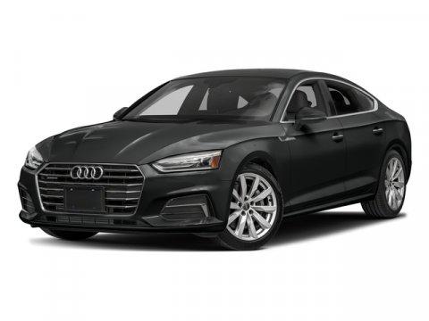 2018 Audi A5 Sportback Premium Mythos Black MetallicBlack V4 20 L Automatic 0 miles Heated Le