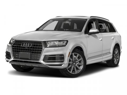 2018 Audi Q7 Premium Plus Glacier White MetallicBlack V4 20 L Automatic 10 miles Moonroof Na
