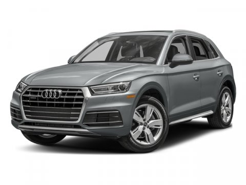 2018 Audi Q5 Premium Monsoon Gray MetallicBlack V4 20 L Automatic 0 miles Sunroof Heated Lea