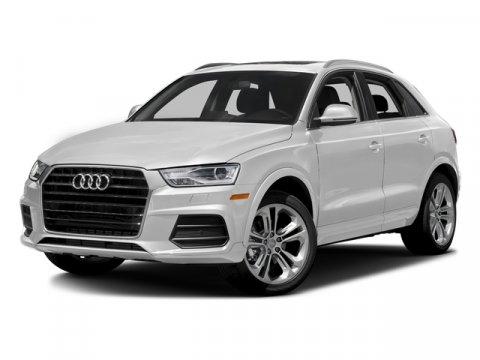2018 Audi Q3 Premium Plus Glacier White MetallicBlack V4 20 L Automatic 0 miles Heated Leathe