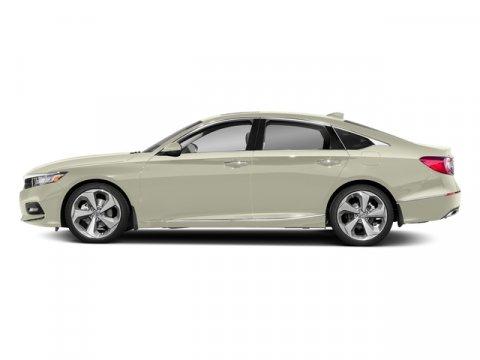 2018 Honda Accord Sedan Touring Platinum White PearlBlack V4 15 L Variable 7 miles  BLACK LEA
