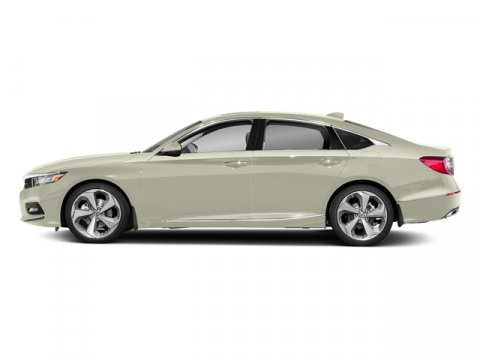 2018 Honda Accord Sedan Touring 20T Platinum White PearlBlack V4 20 L Automatic 7 miles  BLA