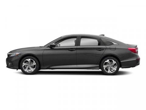 2018 Honda Accord Sedan EX-L Modern Steel MetallicBlack V4 15 L Variable 7 miles  BLACK LEATH