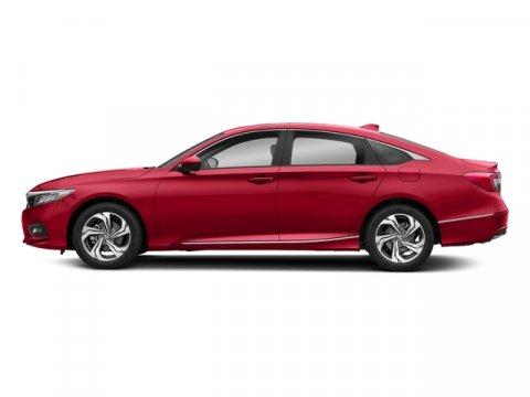 2018 Honda Accord Sedan EX-L 20T Radiant Red MetallicIvory V4 20 L Automatic 7 miles  IVORY
