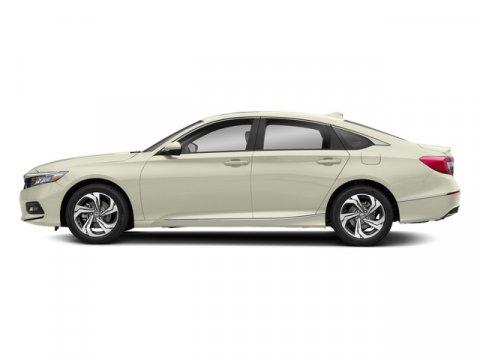 2018 Honda Accord Sedan EX-L Platinum White PearlBlack V4 15 L Variable 7 miles  BLACK LEATHE