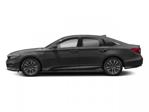 2018 Honda Accord Hybrid HYBRID Modern Steel MetallicBlack V4 20 L Variable 7 miles  BLACK FA