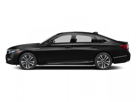 2018 Honda Accord Hybrid EX Crystal Black PearlBlack V4 20 L Variable 7 miles  BLACK FABRIC S