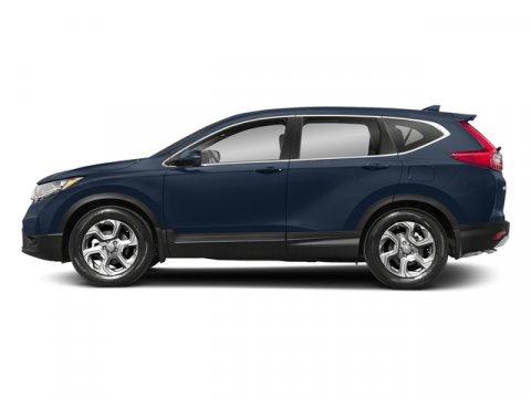 2018 Honda CR-V EX-L Obsidian Blue PearlGray V4 15 L Variable 7 miles  GRAY LEATHER SEAT TRIM