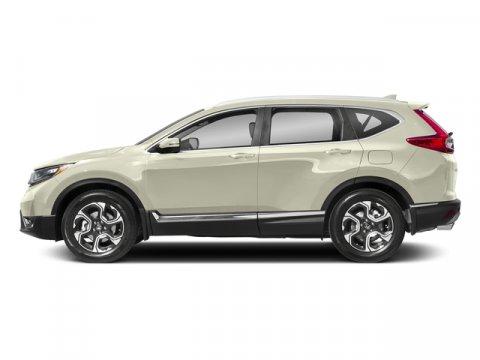 2018 Honda CR-V Touring White Diamond PearlBlack V4 15 L Variable 7 miles  BLACK LEATHER SEAT