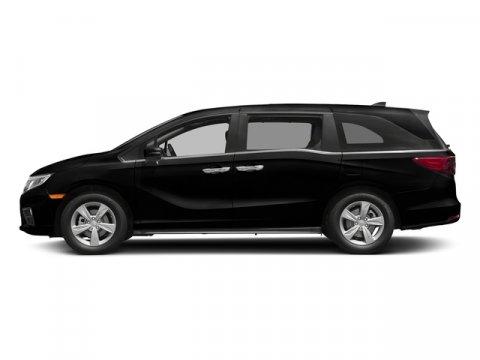 2018 Honda Odyssey EX-L Crystal Black PearlMocha V6 35 L Automatic 7 miles  MOCHA LEATHER SEA