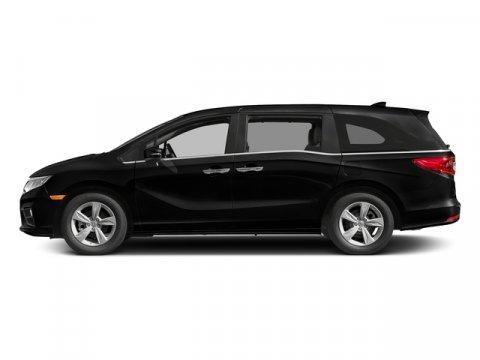2018 Honda Odyssey EX Crystal Black PearlMocha V6 35 L Automatic 7 miles  CRYSTAL BLACK PEARL