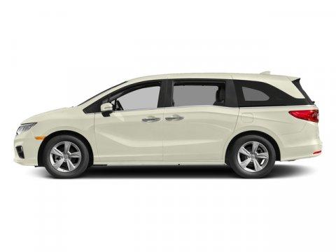 2018 Honda Odyssey EX White Diamond PearlBeige V6 35 L Automatic 8 miles  WHITE DIAMOND PEARL