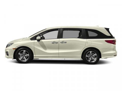 2018 Honda Odyssey Touring White Diamond PearlMocha V6 35 L Automatic 7 miles  WHITE DIAMOND