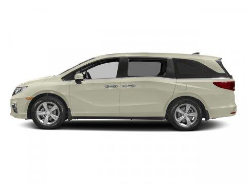 2018 Honda Odyssey EX-L White Diamond PearlMocha V6 35 L Automatic 8 miles  WHITE DIAMOND PEA