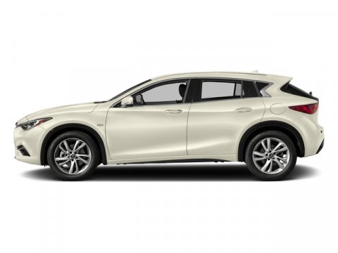 2018 INFINITI QX30 Premium Majestic White V4 20 L Automatic 8 miles Boasts 30 Highway MPG and