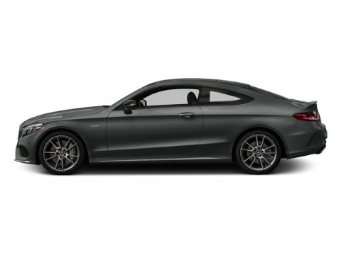 2018 Mercedes AMG C 43 4MATIC Coupe Selenite Grey MetallicBlack Lthr Red V6 30 L Automatic 8 m