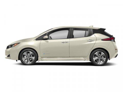 2018 Nissan LEAF SV Pearl WhiteBlack V 00 Automatic 0 miles Choose Nissan for Innovation that