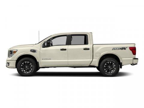 2018 Nissan Titan PRO-4X Pearl WhiteBlack V8 56 L Automatic 0 miles Choose Nissan for Innovat