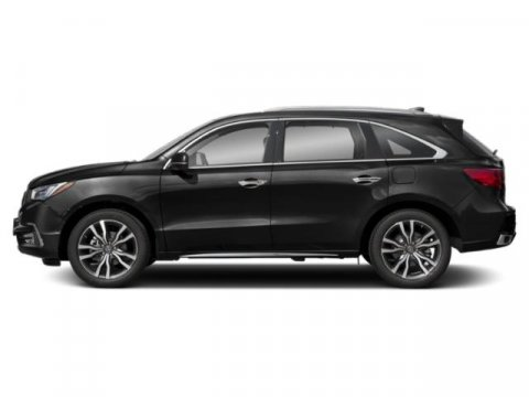 2019 Acura MDX with AdvanceEntertainment Pkg Majestic Black PearlEbony V6 35 L Automatic 10 m