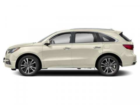 2019 Acura MDX with AdvanceEntertainment Pkg White Diamond PearlEbony V6 35 L Automatic 10 mi