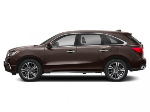 2019 Acura MDX with TechnologyEntertainment Canyon Bronze MetallicEspresso V6 35 L Automatic