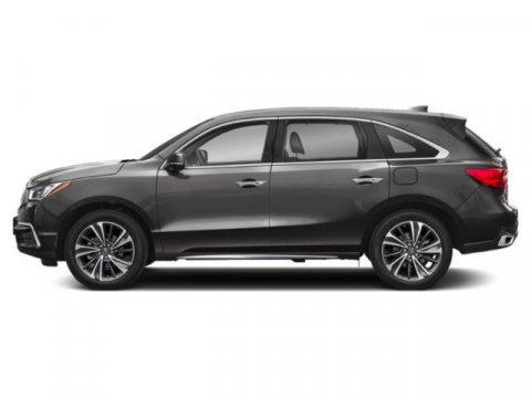2019 Acura MDX with TechnologyEntertainment Modern Steel MetallicEspresso V6 35 L Automatic 1