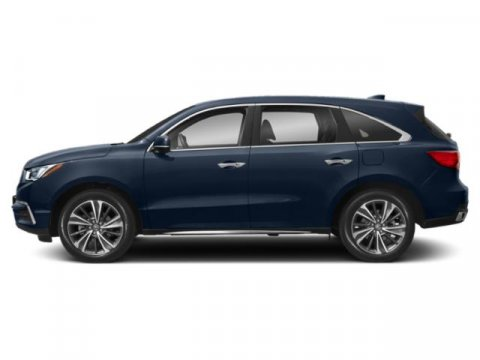 2019 Acura MDX with Technology Pkg Fathom Blue PearlGraystone V6 35 L Automatic 10 miles The